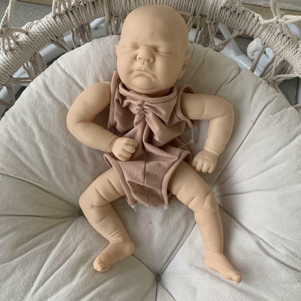 18inch Reborn Doll Kit DIY Unassembled Doll Kids Toy Simulation Lifelike H Sale