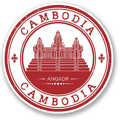 2 x Buddhism Vinyl Sticker Laptop Travel Luggage Car #5767