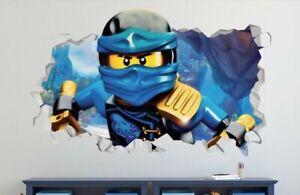 Lego Ninjago Custom Wall Decals 3D Wall Stickers Art R02