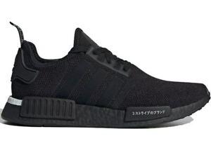 Adidas-Triple-Black-Nmd-R1-034-Japan-2019-034-Boost-Men-039-s-size-4-13-BD7754