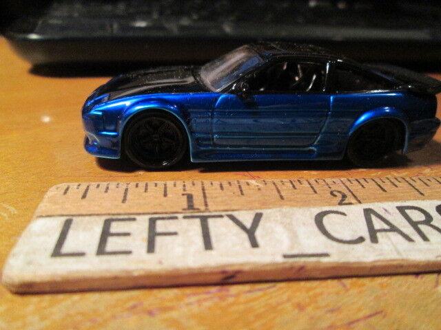 Jada dub stadt 1993 blk & blauen nissan 240sx maßstab 1   64 - los keine kiste in der nähe von minze
