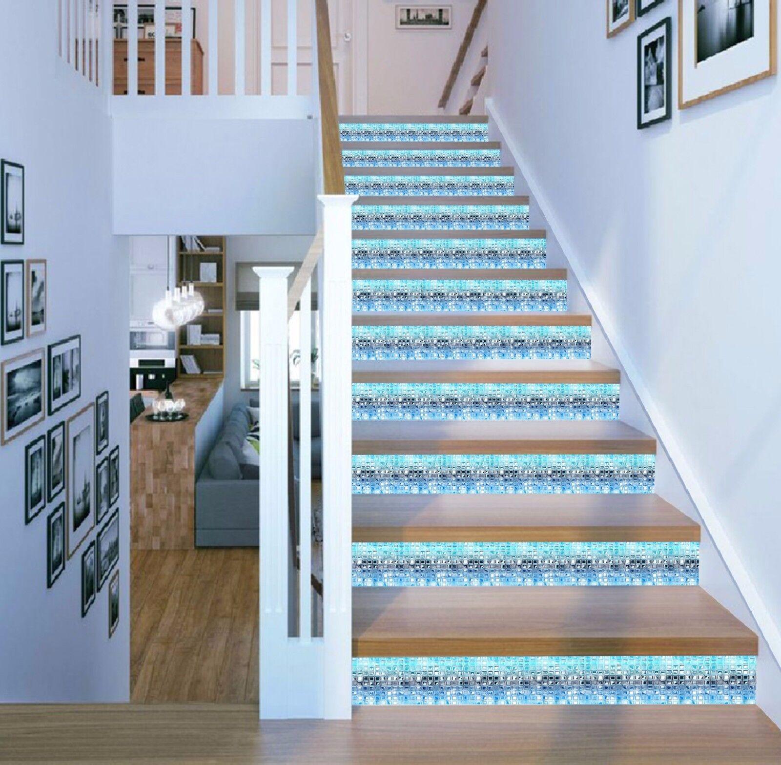 3D Helle Muster 386 Stair Risers Dekoration Fototapete Vinyl Aufkleber Tapete DE