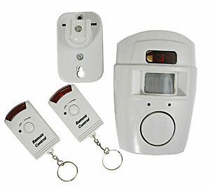 garage guard remote remote passive infrared alarm system for garage shed ebay. Black Bedroom Furniture Sets. Home Design Ideas