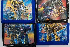 Transformers Wallet Blue Children Boys Girls Wallet Kids Cartoon Coin Purse