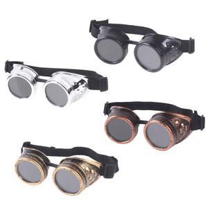 Gafas-de-Steampunk-victoriana-vintage-Gafas-Soldadura-Gotica-Juego-de-ro-kn