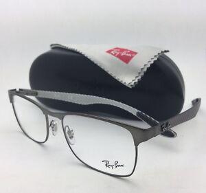 69f064f555 New RAY-BAN Rx-able Eyeglasses TECH RB 8416 2620 55-17 Gunmetal ...