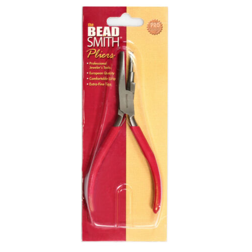 BeadSmith® 3 Schritt Runde Hohl Zange mit Doppelt Feder für 3-5mm Schleifen