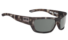71c857fdb04 Spy Men s Polarized Tackle 673468158885 Brown Wrap Sunglasses for ...