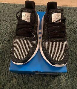 Mentalidad salón dolor de estómago  Adidas Originales Para Mujer Swift Zapatillas Bajo Top Negro Encaje Arriba  EG7984 7 Nuevo | eBay