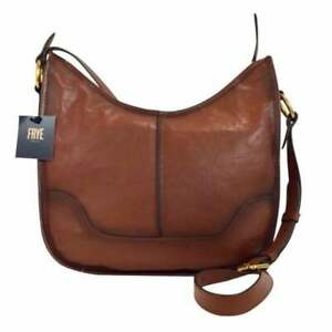 FRYE-LUCY-SADDLE-NWT-COGNAC-LEATHER-CROSSBODY-BAG-358-00