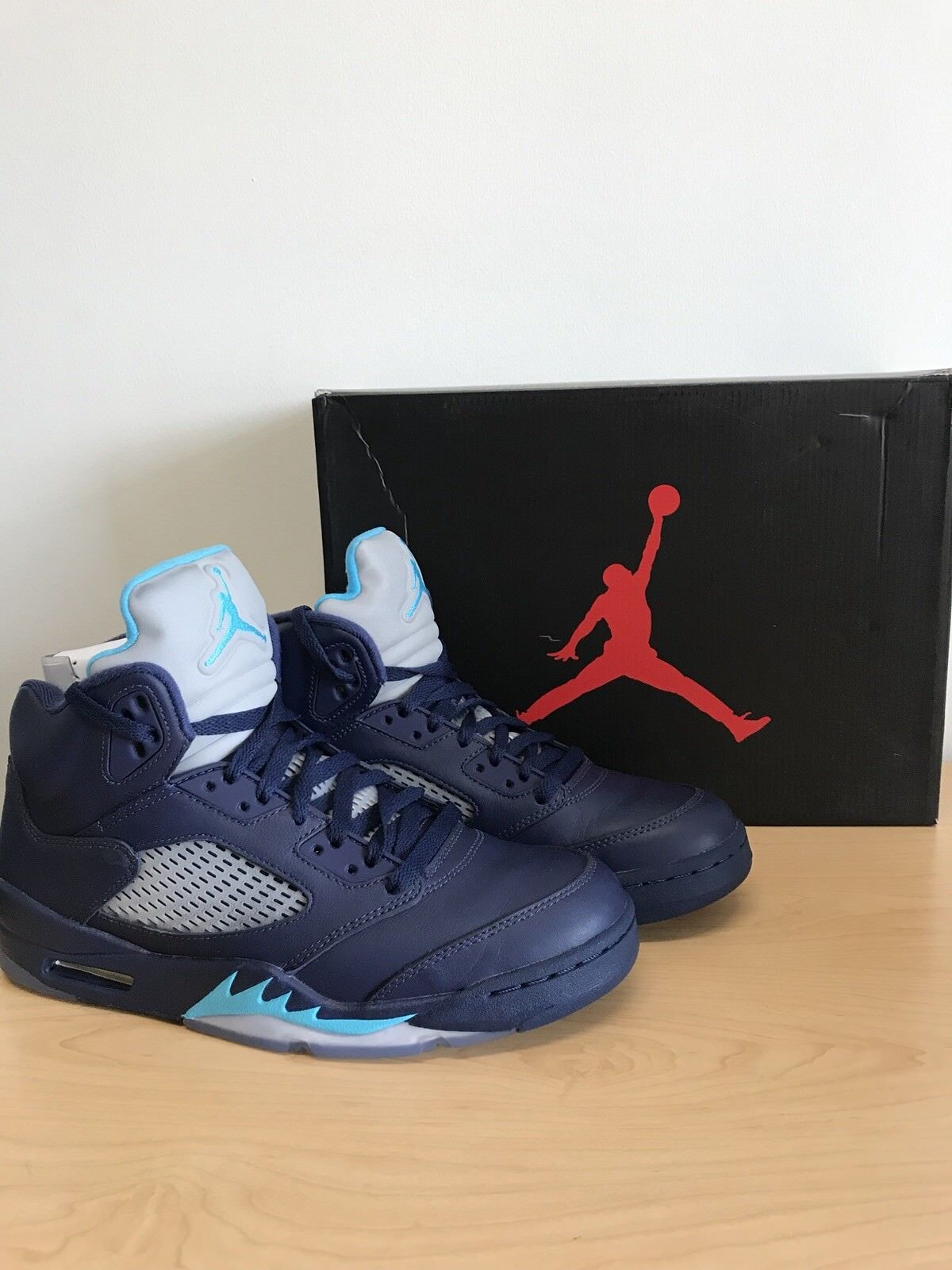 air jordan 5 retro midnight navy Size-9.5