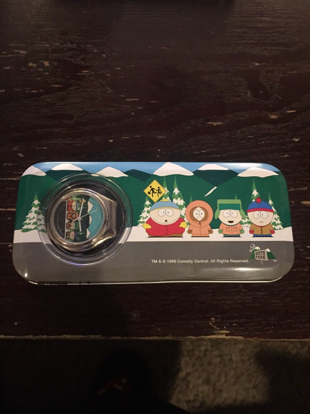 South Park Watch New In Tin Case