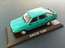 DACIA 1320 (STYLE RENAULT R12)  MODEL DIECAST IXO / IST LEGENDARY CARS 1/43 B47