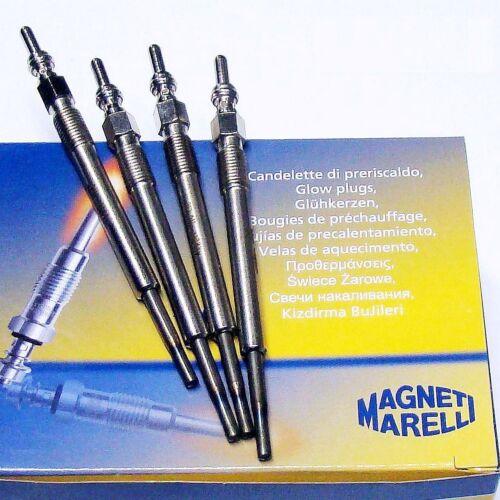 4 x Glühkerze Magneti Marelli LANCIA Musa 350 1.3 D Ypsilon 843 1.3 D 1.3 JTD