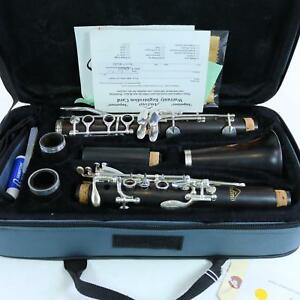 Andino-by-Luis-Rossi-Intermediate-Wood-Clarinet-with-Silver-Keys-BRAND-NEW