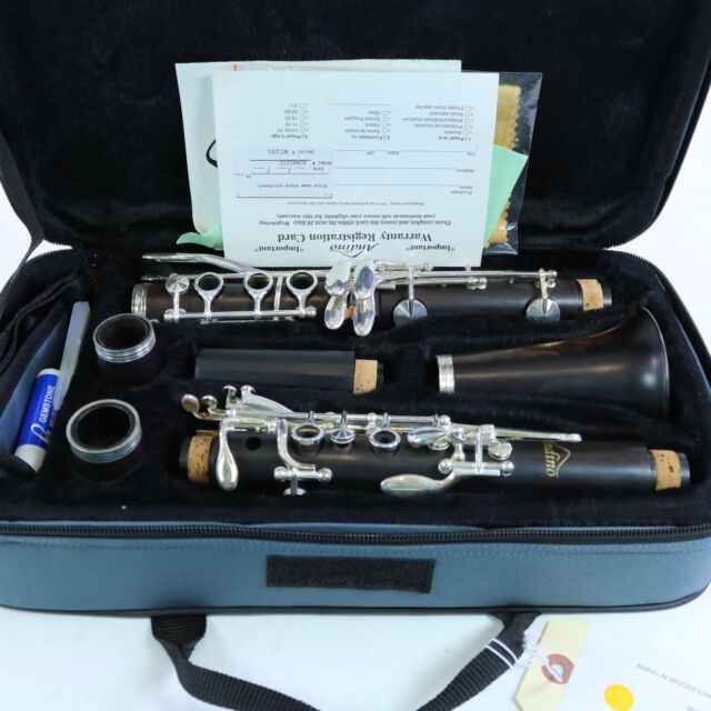 Andino by Luis Rossi Intermediate Wood Clarinet with Silver Keys BRAND NEW