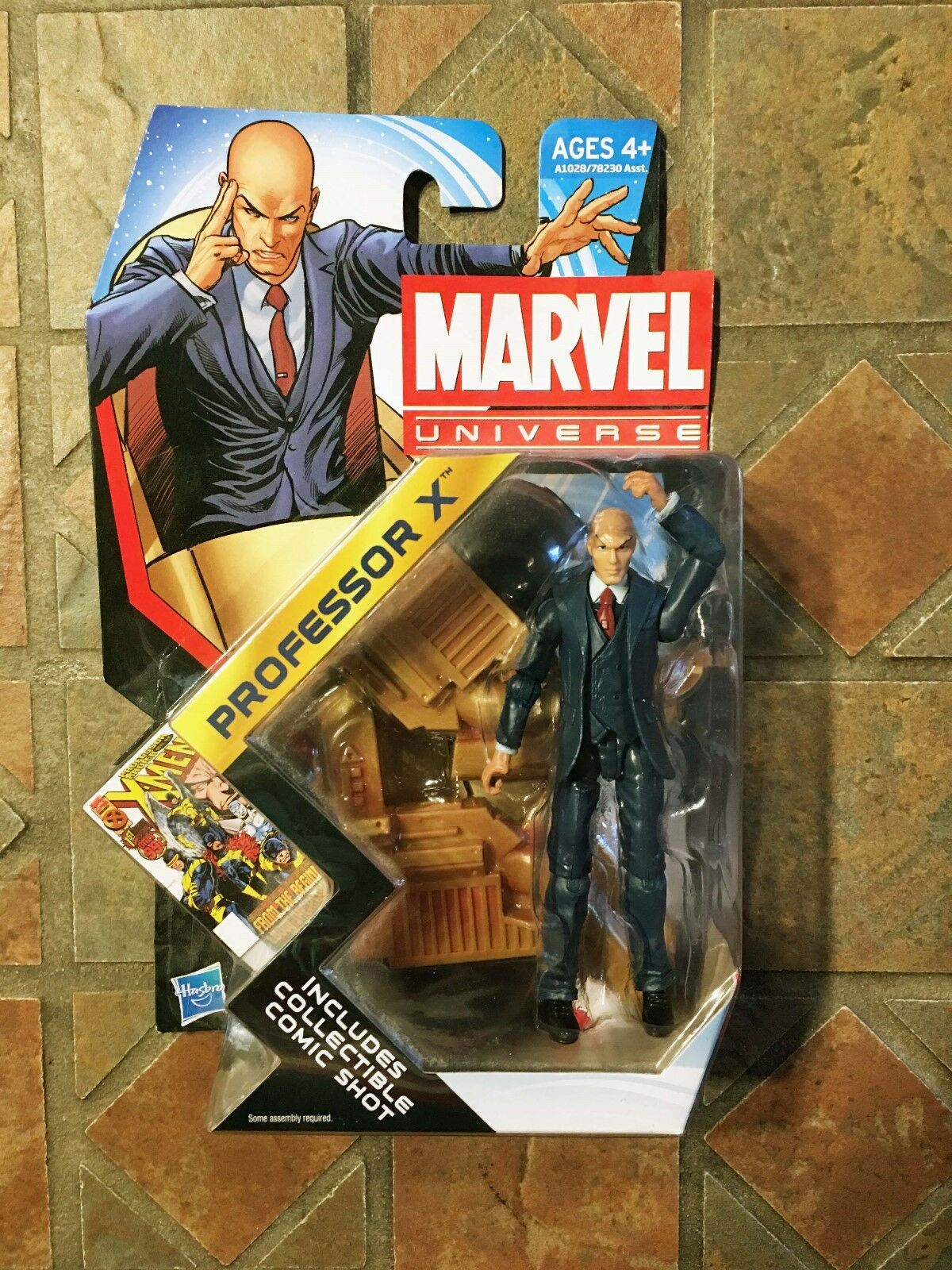 Marvel Universe PROFESSOR X figure Series 4 X-Men Avengers Xavier