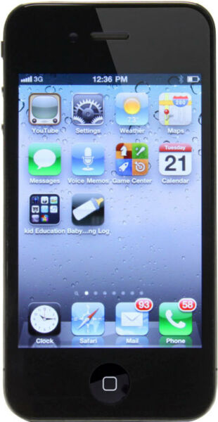 unlocked iphone 5 apple iphone 4 8gb black unlocked a1332 gsm ebay 13187