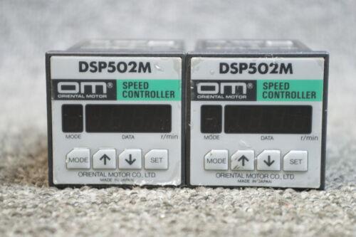 ORIENTAL MOTOR CO.LTD SPEED CONTROLLER  DSP502M LOT OF 2  FREE SHIP