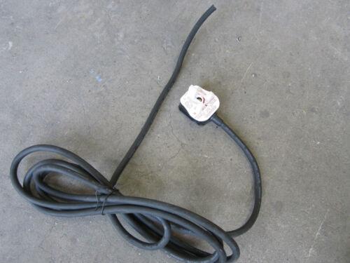 3 metro de largo Heavy Duty plomo cable de alimentación con enchufe de Reino Unido 13 A fusible para herramientas eléctricas