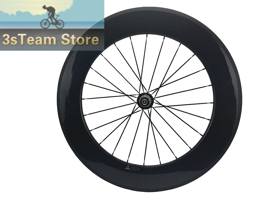 88mm Straight Pull Carbon Road Bike Wheel Front and Rear Bicycles Tubular Wheel