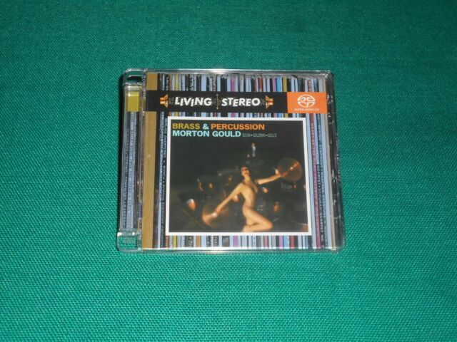 Morton Gould, Sousa Goldman Gould ‎– Brass & Percussion Sacd , Hybrid, Multi
