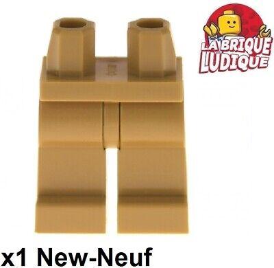 1x Figurine Minifigure Leg Hips Legs Medium Dark Flesh 970c00 New Lego