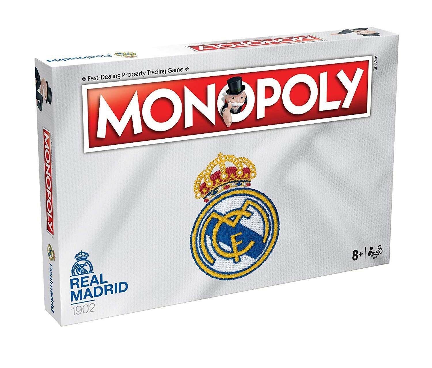 Real Madrid Monopoly Fc Football Board Game Official Brand New Gift