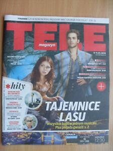 INTO THE WOODS / ANNA KENDRICK & CHRIS PINE on front cover TELE MAGAZYN 1/2018 - Czestochowa, Polska - INTO THE WOODS / ANNA KENDRICK & CHRIS PINE on front cover TELE MAGAZYN 1/2018 - Czestochowa, Polska