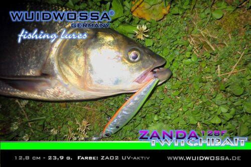 WUIDWOSSA Zanda 128F Set KAUF 5 ZAHL 4 AKTION Twitchbait Wobbler Kunstköder deps