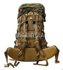 NEW  USMC GEN 2 MARPAT TAN WOODLAND ILBE MAIN PACK w LID BELT COMPLETE ARCYTERYX
