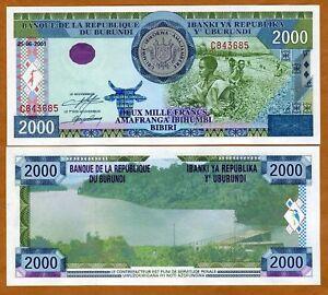 Burundi-2000-2-000-Francs-2001-P-41-41a-UNC-gt-Large-Size-Issue