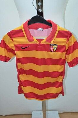 NIKE RC LENS MAILLOT T SHIRT FOOT FOOTBALL JERSEY 10 ANS ROUGE | eBay