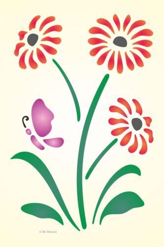 Mr Stencil Maler Wandschablone Wandschablonen Schablone Floral 3