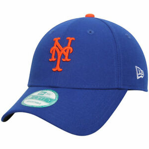 New-Era-9FORTY-MLB-New-York-Mets-Regolabile-The-League-Curvo-da-Baseball
