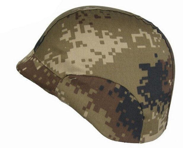 Cool Tactical  PC Helmet Two Point Suspension Camo Helmets Headwear 650g