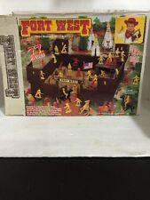 Western Tim Mee Vintage Toy Soldiers Fort West Set in Original Box No. 12700