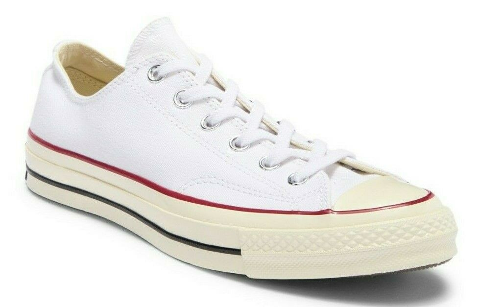 Converse Chuck Taylor All Star 70 OX Low Top zapatilla de deporte Men 7.5 mujer 9.5 blanco