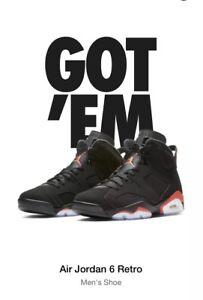 Air Infrared Size 6 2019 Vi 13 Black Jordan Retro Men thQCsrdx