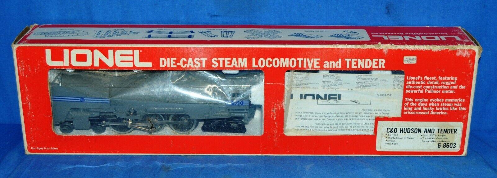 Lionel 6-8603 Die Cast New York Central Steam Locomotive & Tender