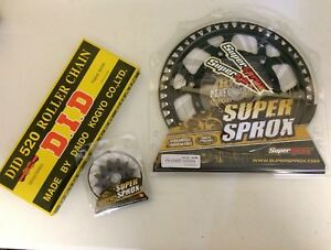 KXF-450-Sprocket-Set-Front-14-Rear-48-Sprocket-Blk-Alloy-DID-Chain-2006-Onward