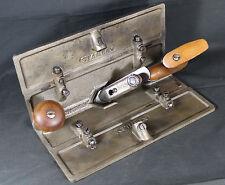 Antique Vintage Stanley No. 47 Core Box Plane w/ Extensions