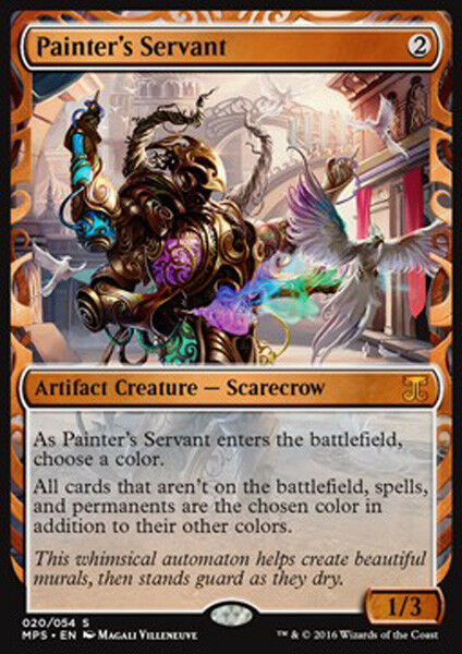MTG PAINTER's SERVANT FOIL EXC - SERVO DEL PITTORE - KI - MAGIC