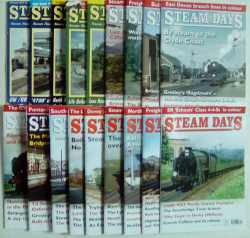 Steam Days Railway Magazine February 2013 - May 2018 Select Any Issue