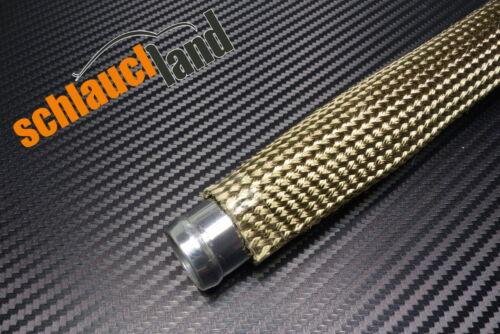 1 M kevlar Titane Chaleur Protection Tuyau ID 40 mm *** Protection Thermique Manche Heat Tuyau