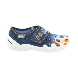 Befado-chaussons-enfants-chaussures-pour-enfants-enfants-marine-multicolor-90957
