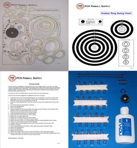 1966 Gottlieb Hurdy Gurdy Pinball Machine Tune-up Kit