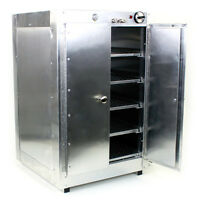Heatmax Commercial Food Warmer Aluminum Countertop 19x19x29 Hot Box Cabinet on sale