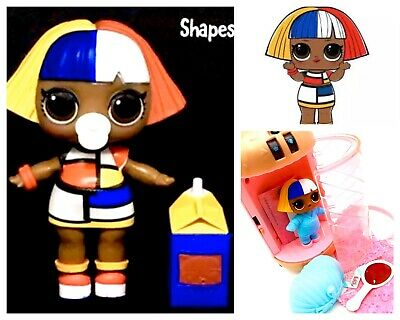 LOL Surprise Dolls SHAPES Under Wraps Wave 2 Eye Spy Series 4 Big Sis~New Sealed