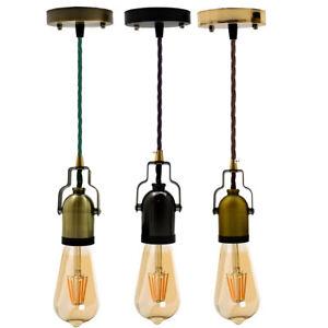 E27-Ceiling-Fabric-Flex-Hanging-Pendant-Lamp-Holder-Light-Fitting-Lighting-Kit